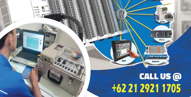 Jasa Pemrograman PLC dan HMI
